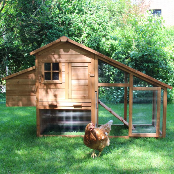 Hühnerhaus Bertha