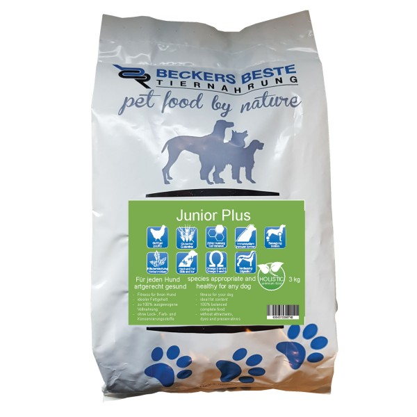 Premium Hundefutter Junior PLUS 3 kg