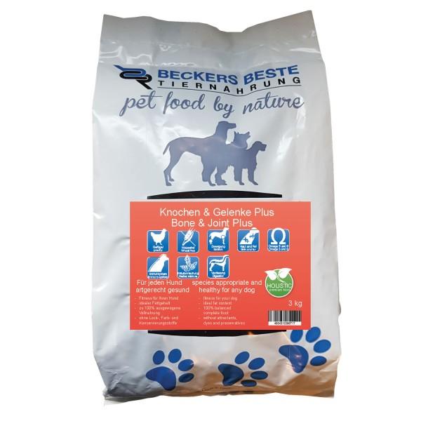 Premium Hundefutter Knochen & Gelenke PLUS 3kg
