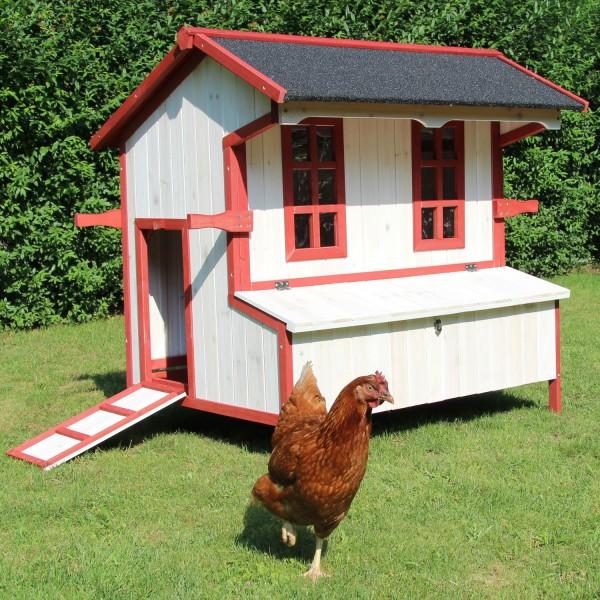 Hühnerhaus Kleintierstall Hasenstall Kaninchenstall Cordula von Zoo-XXL