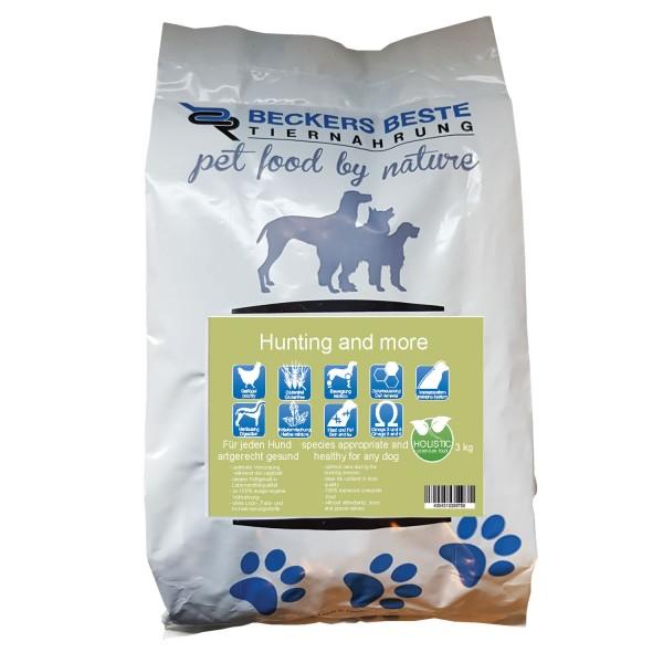 Premium Hundefutter Hunting & More 3 kg