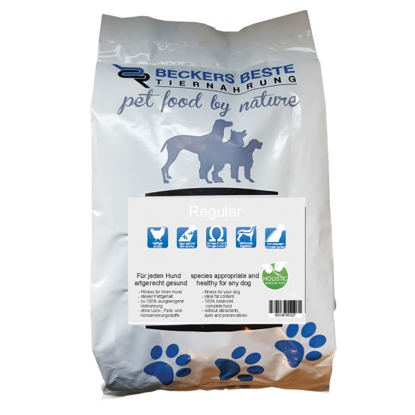 Premium Hundefutter Regular 5 kg