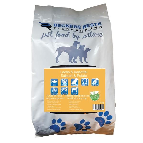 Premium Hundefutter Lachs & Kartoffel 5kg
