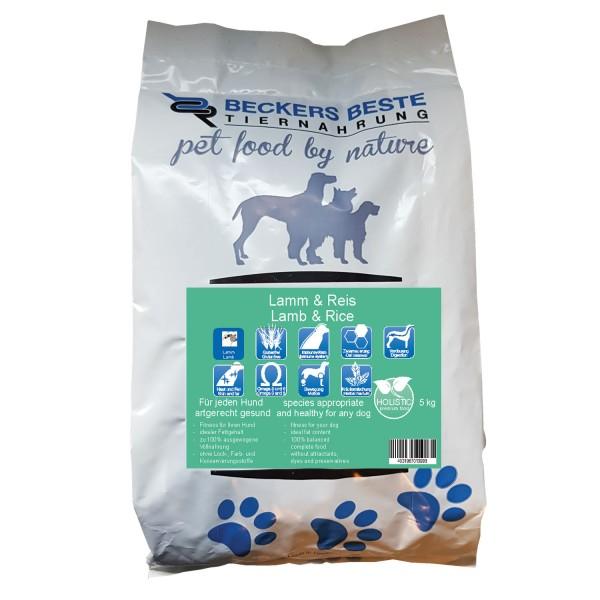 Premium Hundefutter Lamm & Reis 5 kg
