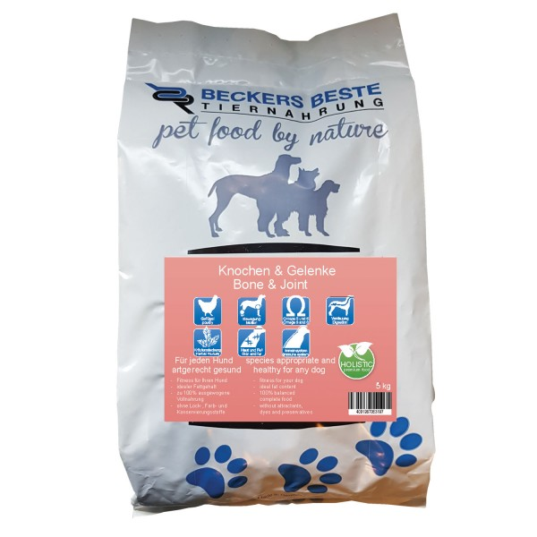 Premium Hundefutter Knochen & Gelenke 5kg
