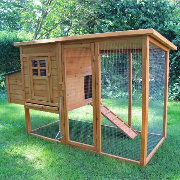 Hühnerhaus Kleintierstall Hasenstall Kaninchenstall Elise von Zoo-XXL