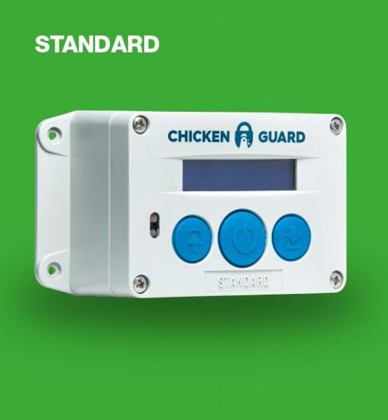 ChickenGuard © Standard, automatische Steuerung für Hühnerklappen