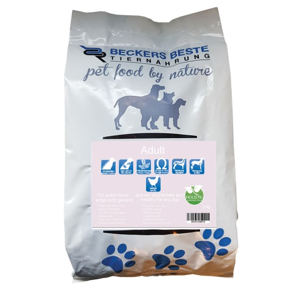 Premium Hundefutter Adult 3 kg